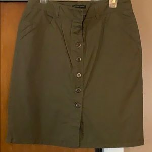 NY&CO button down skirt